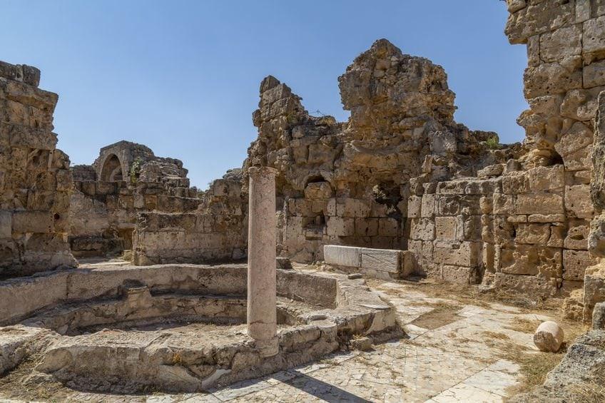 הריסות סלמיס - קפריסין הטורקית