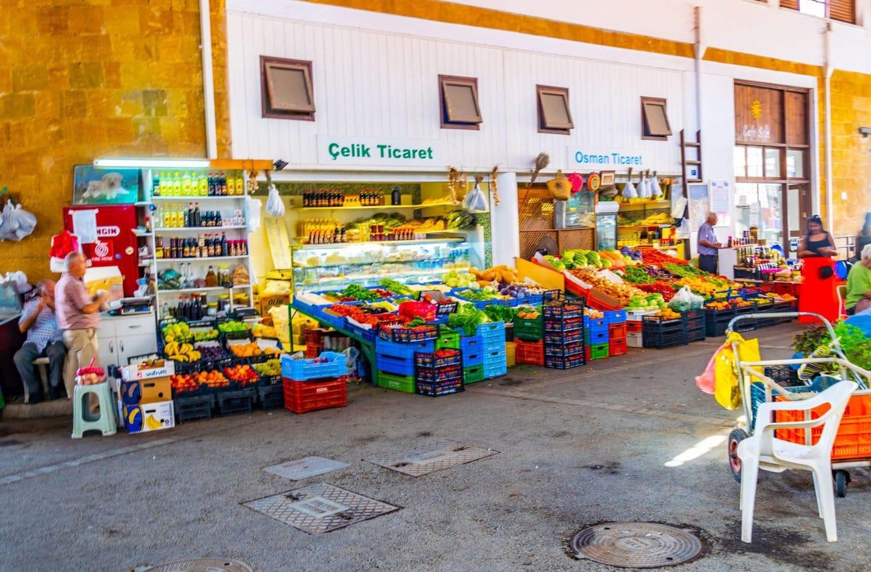 שוק בלפקושה - ניקוסיה הטורקית