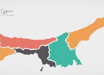 קפריסין הטורקית מפה